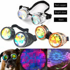 Festivals Kaleidoscope Rainbow Glasses Prism Diffraction Crystal Lenses Sunglass