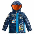 Disney Store Miles From Tomorrowland Boy Hooded Puffy Jacket Coat Size 5/6