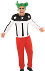 Mens 1990's 90s Music Celebrity Famous Person Fancy Dress Costume Outfit M L XL