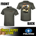 NEW 2017 POLARIS RZR MEN'S AIR TEE SHIRT - GRAY 2867883 (Sizes: Small - 3XL)