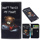 """For Vodafone Smart E8 N8 V8 5""""-5.5"""" Phone Leather Wallet Pouch Bag Case Cover"""