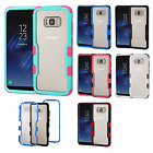 For Samsung Galaxy S8 / S8 PLUS IMPACT TUFF HYBRID Protector Case Skin Cover $9.95 USD