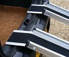 "5ft x 6"" Channel Folding Telescopic Ramps Long Landing Lip Reaches Over Bumpers"