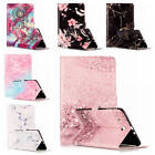 For Samsung Galaxy Tab E 9.6 Painted Leather Shockproof Wallet Soft Rubber Cover