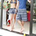 1 Pc Surf Beach Pants Women's /Mens Navy Swimwear Board Shorts For Couple