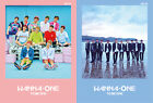 WANNA ONE - 1st Mini Album [PINK + SKY ver. SET] CD+Photocard+2 Poster+Free Gift