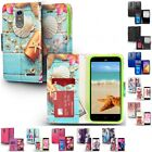 For ZTE Max XL Blade Max 3 Wallet Case Phone Cover With ID Card Pocket Slots