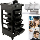 Salon Hairdresser Barber Spa Beauty Storage Trolley Stool Hair Coloring Cart