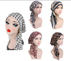 Women Stretch Bonnet Turban Hat Head Scarf Wrap Chemo Bandana Hijab Cap Beanie