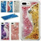 For Apple iPhone 8 & 8 PLUS Liquid Glitter Quicksand Hard Phone Cover Accessory