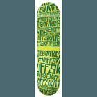 Enuff Scramble Green Skateboard Deck