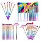 Makeup Brushes Set Eyeshadow Face Highligh Rhombus Foundation Blending Comestic