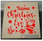 Christmas Eve Box - Personalised Sticker for DIY Christmas Eve Box  - Add Name
