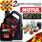 5L MOTUL 300V 15W50 OIL AND HIFLO HF204 FILTER TO FIT VEHICLES IN DESCRIPTION 2