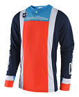 NEW 2018 TROY LEE DESIGNS TLD SE SQUADRA MOTO MX JERSEY NAVY/ORANGE ALL SIZES