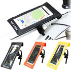 Bike Motorcycle Handlebar Mount Touch Screen Mobile Phone Waterproof Holder Bag