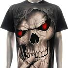 r165 Rock Eagle T-shirt SPECIAL Tattoo Skull Dead Grim Reaper Bloody Eyes Ghost
