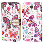 For LG Rebel 2 4G LTE Liquid Glitter Quicksand HARD Case Cover Accessory