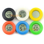 Mini reptile pet Temperature and hygrometer electronic digital round insulation