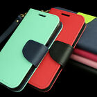 For Htc One M9 Wallet Pu Leather Flip Folio Card Solt Case Cover