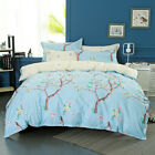 Tree Floral Doona Duvet Quilt Cover Set Single/Queen/King Size Bed Cover Set New