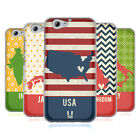 HEAD CASE DESIGNS PRINTED COUNTRY MAPS SOFT GEL CASE FOR HTC ONE A9s