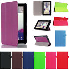 Durable Stylish Folio Case Leather Stand Cover For Amazon Fire HD 8inch 7inch