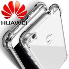 360° Shockproof Soft Silicone TPU Clear Case Cover For Huawei P8 P9 P10 Lite
