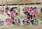 Single Letter Initial Monogram Pendant Necklace With Chain ~~USA Seller