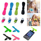 Portable Micro USB Cooling Mute Mini Fan Cooler For Mobile Iphone Cell Phone HOT