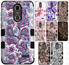 For ZTE Blade Spark 4G IMPACT TUFF HYBRID Protector Case Skin Phone Cover