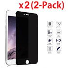 "2 Privacy Anti-Spy Real Tempered Glass Screen Protector Shield for 4.7"" iPhone 7"