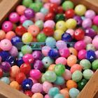 100pcs 6X4mm Coated Glass Faceted Rondelle Loose Spacer Beads Charms Findings