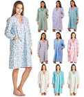 Casual Nights Women's Blossom Flannel Lounger House Dress