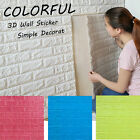 3D DIY Foam Wall Stickers Wall Home Decor Embossed Brick Stone 30*60/60*60 Gift