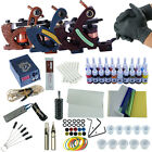 Complete Tattoo Kits 3 Tattoo Machine Guns 20pc Tattoo Inks Power Needles Supply