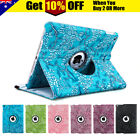 360 Leather Smart Case Cover for Apple iPad 5 4 3 2 iPad mini 3 2 1 Air 1 2 Pro