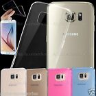 Ultra Slim Crystal Clear Soft TPU Gel Thin Case Cover For iPhone 7 Galaxy S8, S7