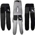 New Mens Jogging JOGGERS Bottoms Sweat Pants Tracksuit Fleece Trousers Gym Comfy