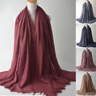 New Style Women Glitter Cotton Tassel Long Hijab Shawl Scarf Scarves Stole Wrap