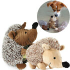 Pet Dog Chews Training Toys Plush Toy Squeaky Hedgehog Squeaker Sound Cat Puppy