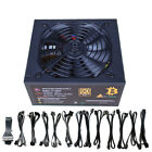 1600W 90% Fully  Modular ATX Power Supply For ETH Bitcoin Antminer A7 S7 S9 L3+