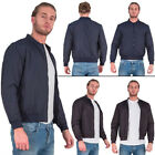 Brave Soul Mens Jacket MA1 Bomber Winter Vintage Casual Warm Coat Long Sleeve M