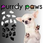 Soft Nail Caps For Dog Claws ( TUXEDO Combo )  Purrdy Paws * 6 sizes up to XXL