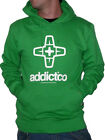 FELPA ADDICT ADDICTCO HOODY SWEAT KELLY SWEATSHIRT STREET UOMO HOODED NEW