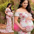 Pregnant Women Long Maxi Dresses Maternity Gown Photography Photo Shoot Clothes