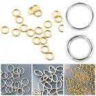3mm 4mm 5mm 6mm JUMP RING FINDING  20pcs Sterling Silver Gold Filled Open closed