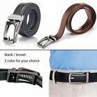 Men Fashion PU Leather Automatic Auto Lock Comfort Click Belt 28″-48″