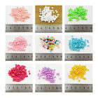 360 AB CUBE ACRYLIC BEADS 4MM *11 COLOURS* BEADING JEWELLERY MAKING CRAFTS