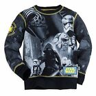 Disney Store Star Wars Long Sleeve Shirt Boy Size 5/6 $19.99 USD on eBay